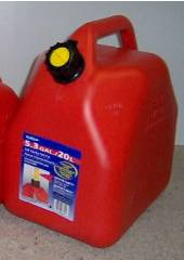 20 Litre Red Jerry Can - Squat