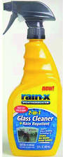 2 in 1 Glass Cleaner & Repellent. Rain-X. 680ml