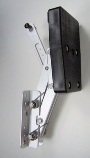 10hp Aluminium Transom Fit Rise & Fall Bracket